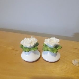 Other - English bone china ainsley salt and pepper